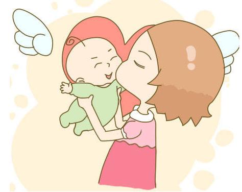 宝宝患了无眼症 但经常笑口常开!一定要按计划去产检哦