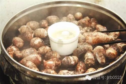 江苏靖江市特产香沙芋 营养丰富又好吃