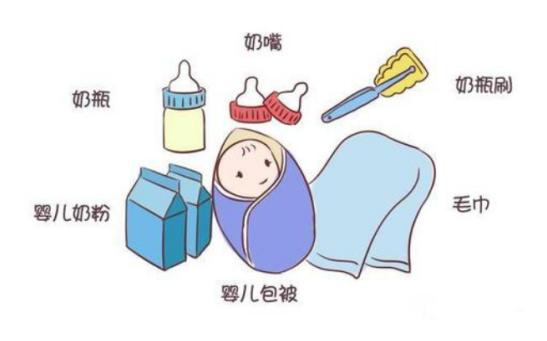 夏天临盆,待产包的婴儿用品都有啥?