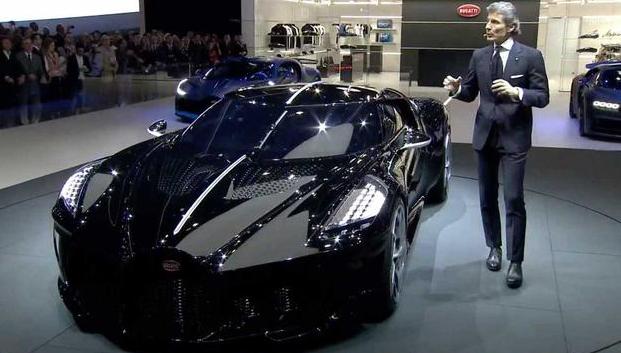 布加迪车价约8345.9万,最贵新车来袭