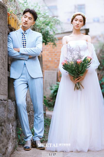 丽江厦门婚纱摄影工作室前十名哪家好【遇见爱】婚纱照锁定时尚旅拍新地标