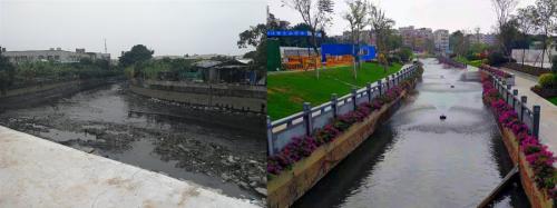 黑臭河变新美景  中国电建昆明院全力提升水环境治理