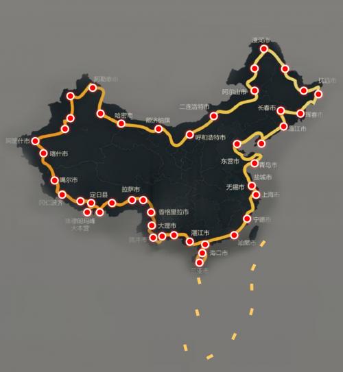 27天 3万公里  挑战极限零故  潍柴汽车值得托付!