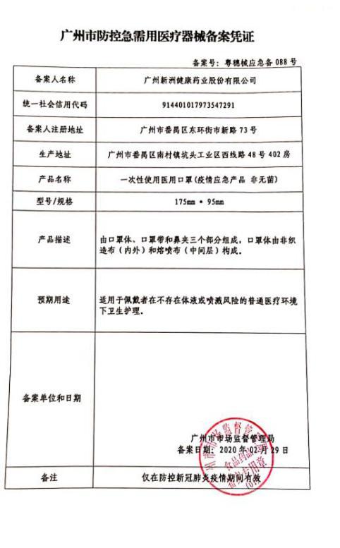 千万元口罩敲诈  广东企业新洲背锅