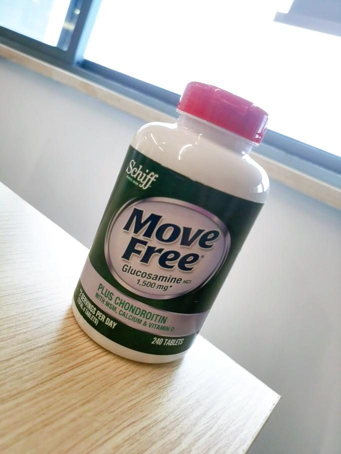 千万种氨糖软骨素加钙片,唯有move free高钙氨糖让我心动