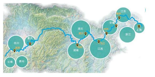 为全国构建新发展格局 推动长江经济带发展以来积累了五条经验