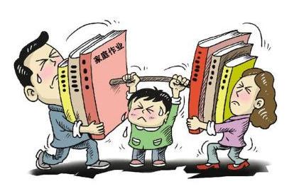 过度关注,会加重孩子学习负担