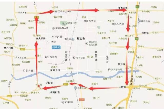 2021新年邢台市汽车限行规定、限行时间、限行区域最新通知