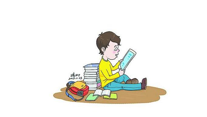 保持与电子产品的距离 少刷手机也是一种家庭教育