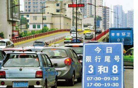 肇庆市汽车2021年部分路段限行限号 肇庆市黄色号牌货车限行时间延长