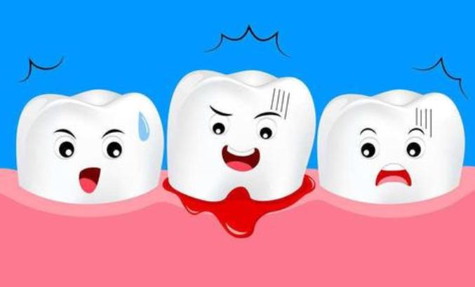 牙齿一吸就出血是什么原因