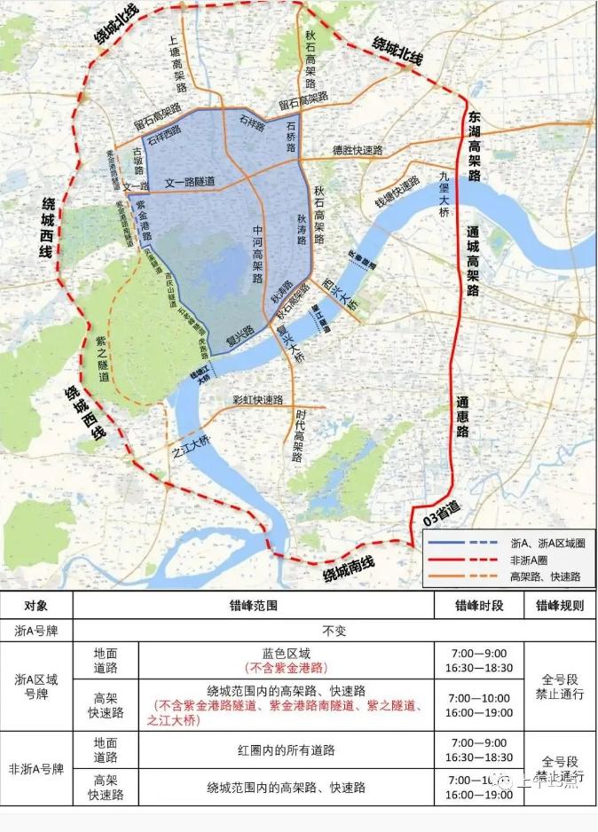 3月1日起杭州限行新政正式施行!你想要的都在这里了