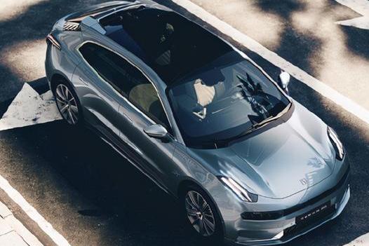 吉利旗下纯电汽车极氪001发布 极氪001最新图片发布