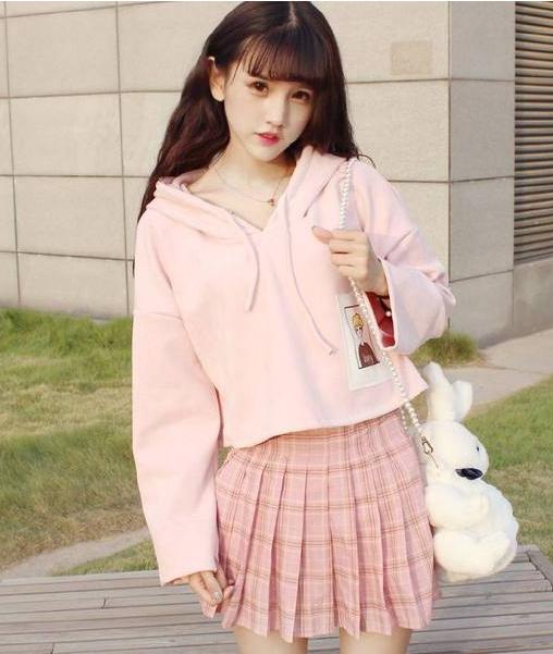 日系少女春季穿搭 打造元气满满的日系美少女