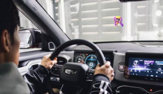 吉利发布智能全息座舱 AID-全息空中智能显示系统强在哪里