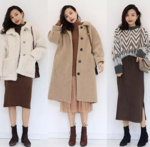 冬季適合小個子微胖女人的時尚穿搭 顯瘦時髦還特暖和