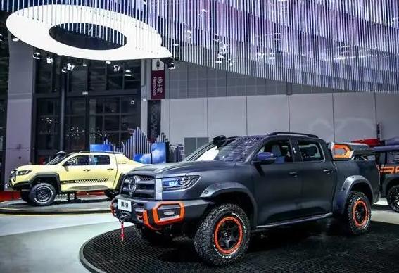 长城汽车携坦克品牌高调展出 长城汽车发布多款新车布局未来