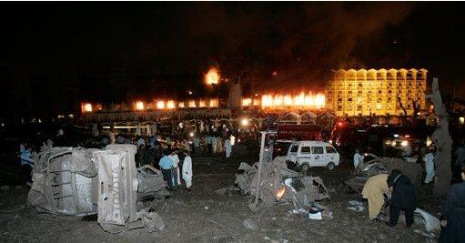 中国驻巴大使入住酒店发生爆炸 酒店发生爆炸时中国驻巴大使正外出