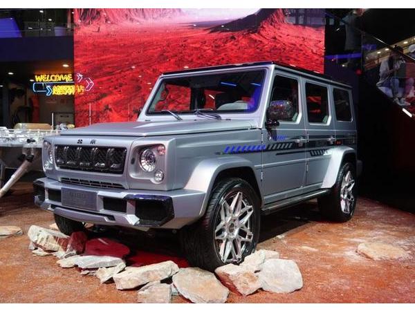 北京越野新车发布 北京越野发布新款bj40 bj80