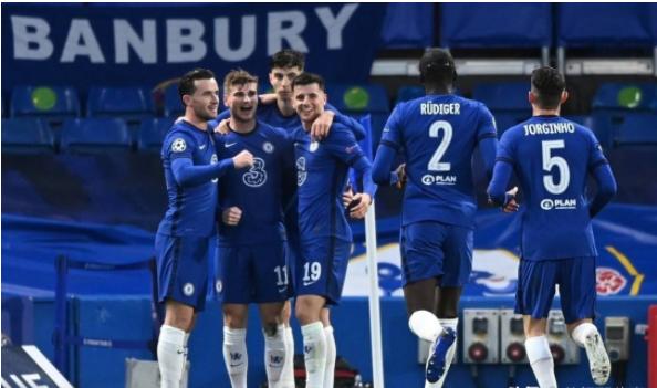 欧冠-切尔西2-0总比分3-1淘汰皇马 英超包揽冠亚军