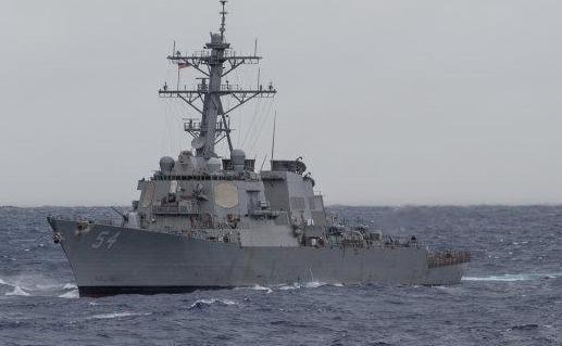 美舰穿航台湾海峡东部战区回应 美舰穿航台湾海峡路线图
