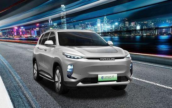 上汽大通2021款EUNIQ6上市 EUNIQ6售价15.98万起