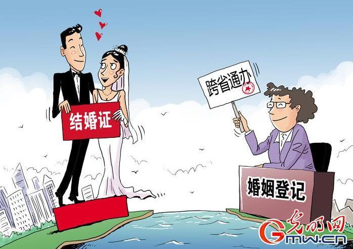 婚姻登记跨省通办是什么意思?现在婚姻登记怎样才能跨省办理?