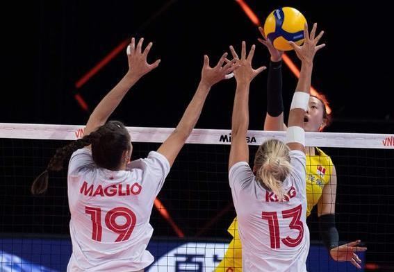 最新消息女排爆冷负加拿大 为什么中国女排2比3不敌加拿大?