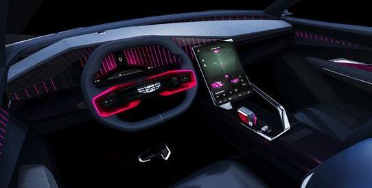 吉利发布最新概念车VisionStarburst!吉利最新概念车官图发布!