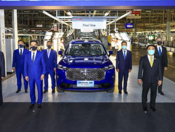 长城泰国工厂进度怎么样? 长城泰国工厂已经投产首款车型即将上市!