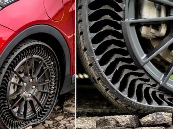 【无气轮胎】无气轮胎怎么样?无气轮胎安全吗?