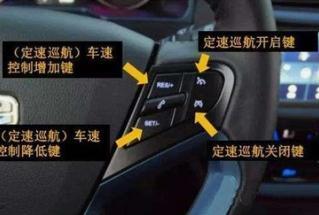 汽车上的定速巡航是什么?定速巡航和自适应巡航有什么区别?