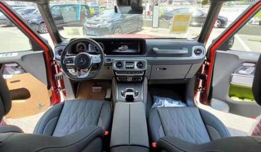 奔驰G500炽炎特别版国内上市!奔驰G500炽炎特别版限量供应500台!
