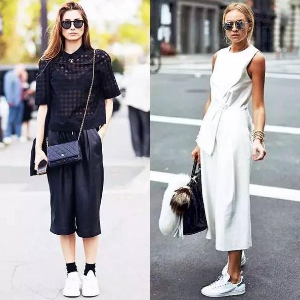 阔腿裤搭配什么鞋子才好看?夏季穿阔腿裤可以配高跟鞋吗?