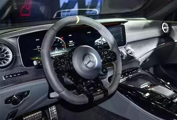 新款AMG GT四门跑车正式发布!新款AMG GT四门跑车做了哪些改动?
