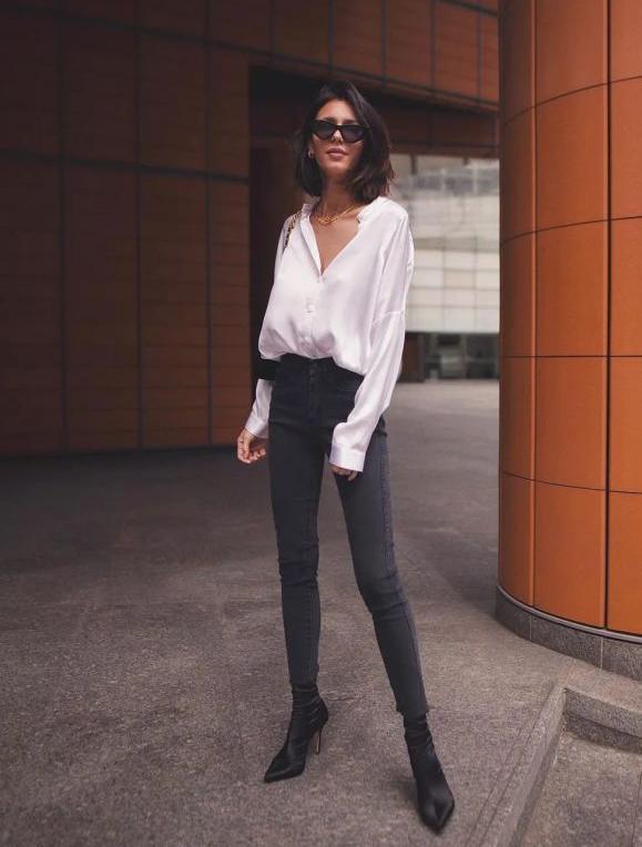 九分裤怎么搭配衣服才更加时尚?记住这3个搭配让你秒变时髦精