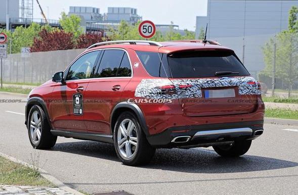 预计明年公布奔驰GLE中期改款曝光! 奔驰GLE中期改款有哪些变化?