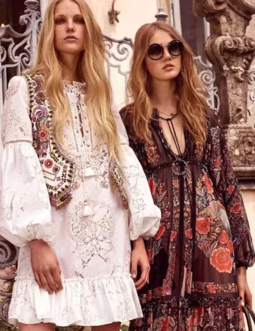 波西米亚风格服装,波西米亚风格才是夏日绝配照着这样穿绝对吸睛