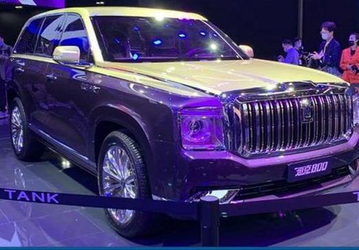 长城曝光全尺寸SUV预计明年亮相 长城曝光全尺寸SUV对标奥迪Q8!