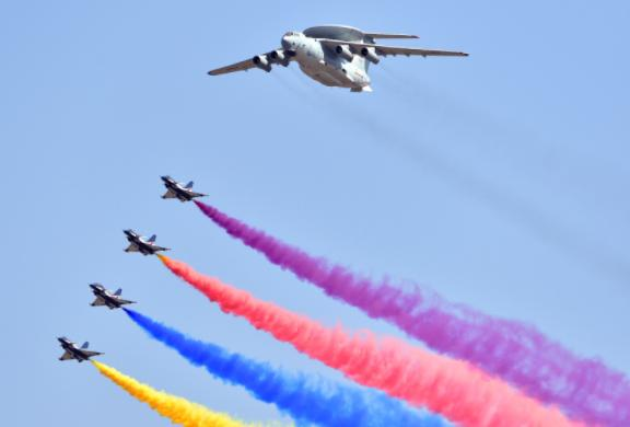 新世纪以来飞过天安门的空中梯队 盘点近年飞过天安门的空中梯队