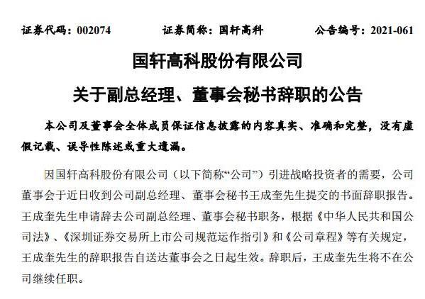 国轩高科5名董事集体辞职?大众系高管将入驻接替
