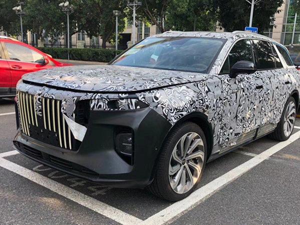 红旗最新全尺寸suv曝光! 红旗要打造中国最壕SUV?