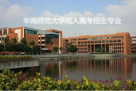 华南师范大学成考选择哪些专业好 华南师范成考报考条件