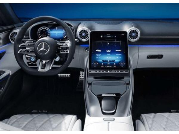 全新一代梅赛德斯AMG SL车型曝光 全新一代AMG SL即将上市!
