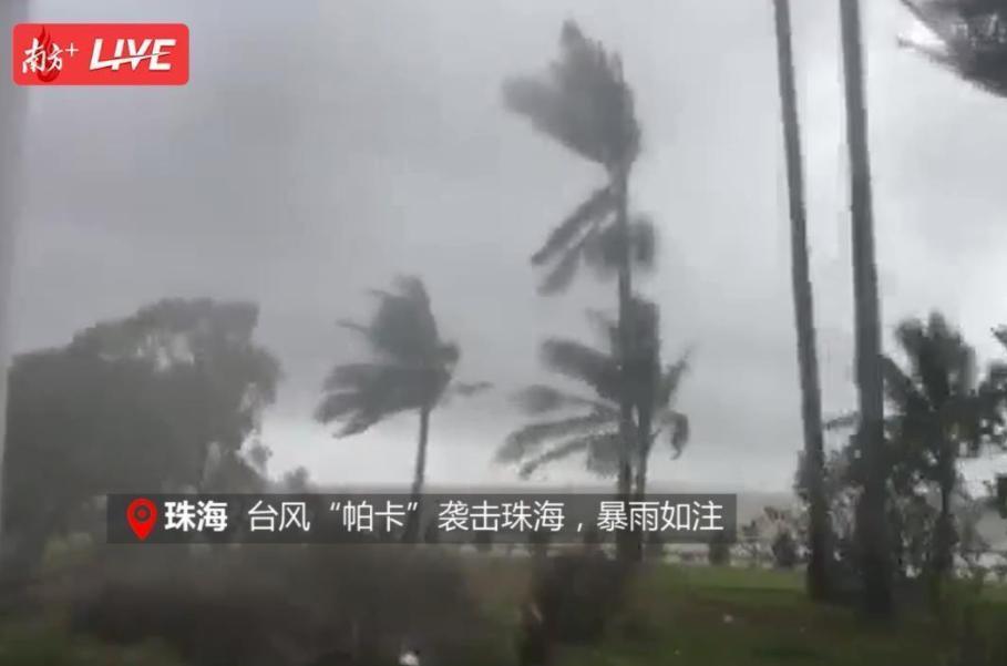 台风查帕卡正面袭击广东,多地最高级别红色预警!