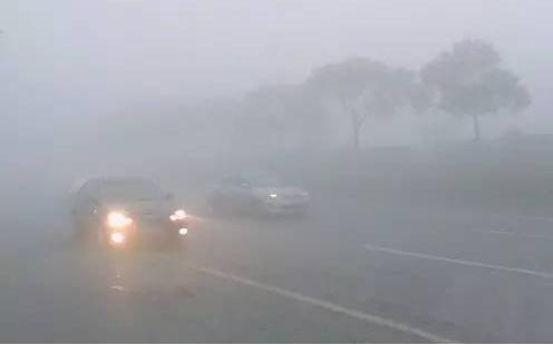 雨雾天气行车开雾灯还是开双闪?搞清楚这些你就知道怎么办了