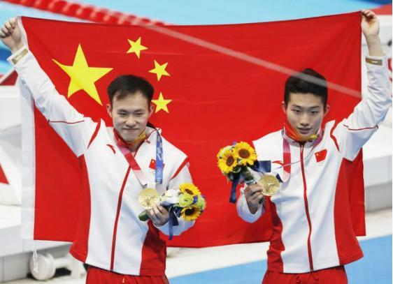 第30金!中国包揽男子3米板冠亚军 好消息中国包揽男子3米板冠亚军