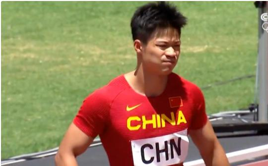 中国队男子百米接力小组第1进决赛 苏炳添携手队友冲击奖牌