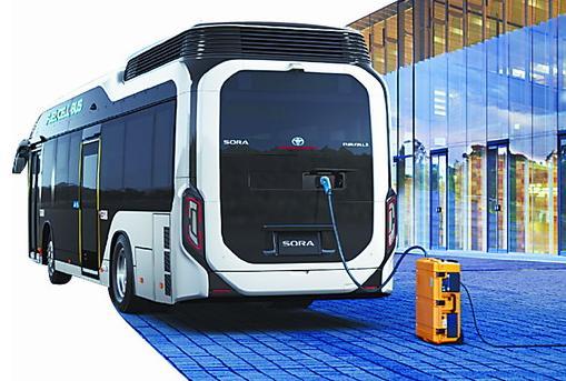 日本在奥运会上对氢燃料电池技术的力捧 在这一领域在中国也开始快速进步