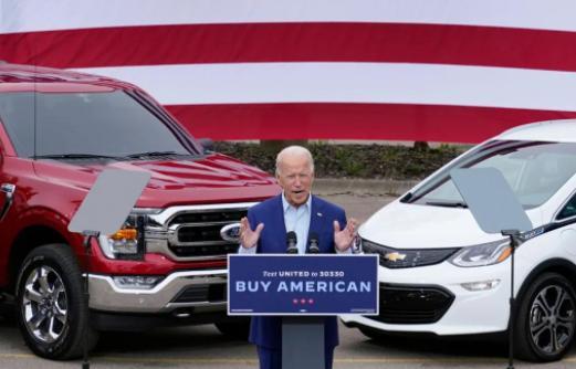 拜登签订激进电动车战略政策 美国相关行业迎来破冰期?